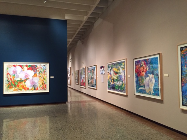 Moving Toward the Light, Exhibition at the Canton Museum of Art, Canton Oh