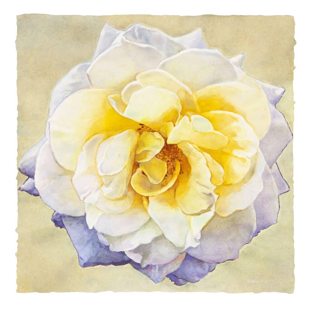 Elegy III - watercolor on paper by Joseph Raffael