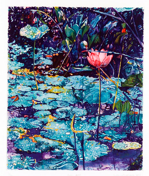 Bali Pond<br />                 etching<br />                 31 x 26 in. - 77,5 x 65 cm<br />                 2003<br />